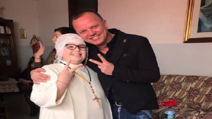 aurora 12 anni malata di cancro prima comunione con d alessio