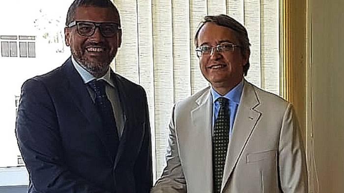 unisa in brasile il rettore incontra il console italiano