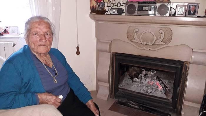 laurina regina d irpinia compie oggi 108 anni