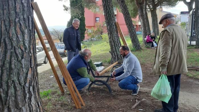 decoro urbano il grande lavoro della comunita montana ufita