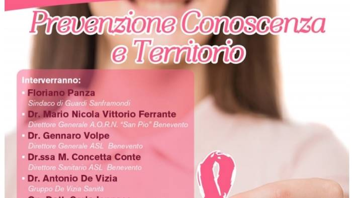 prevenzione guardia sanframondi si tinge di rosa
