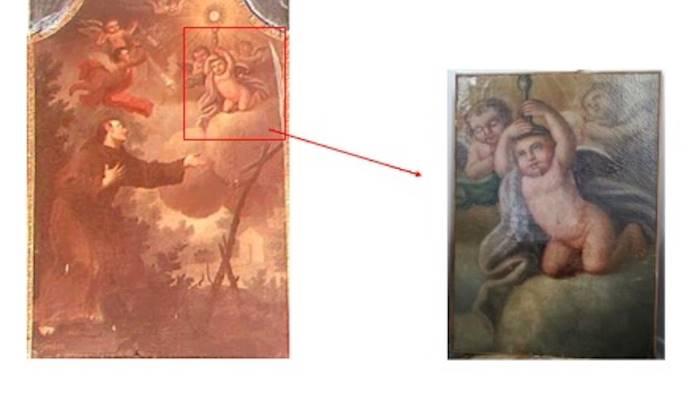 sottratti dal santuario nel 1994 i dipinti tornano a scafati