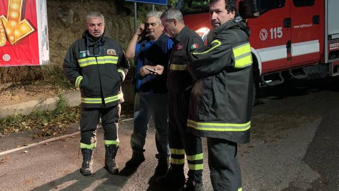 disperso sulla montagna di taurano ritrovato 62enne