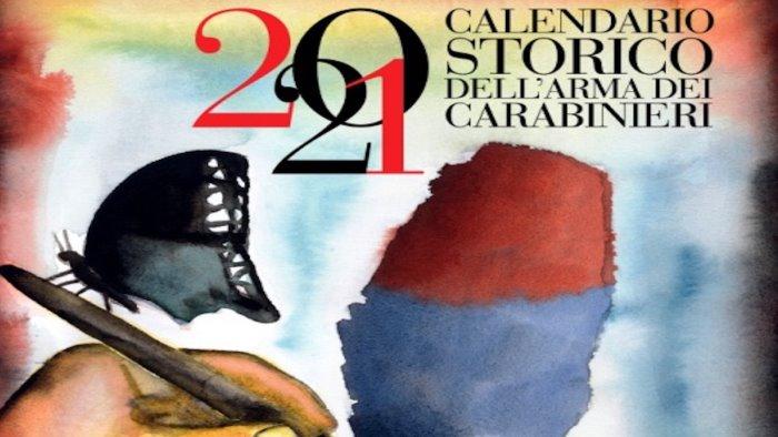 i carabinieri di salerno presentano il calendario storico 2021