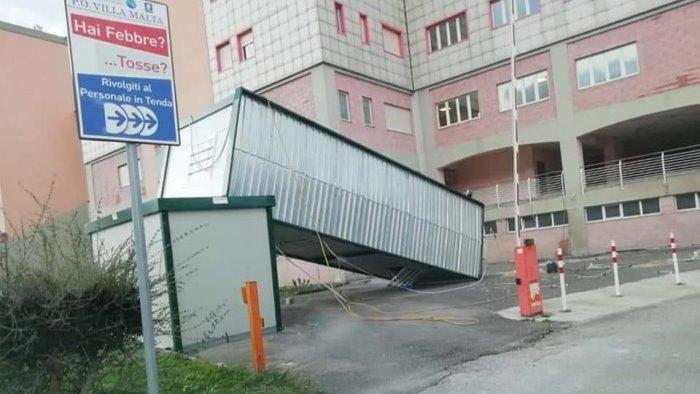 danni all ospedale di sarno si intervenga immediatamente