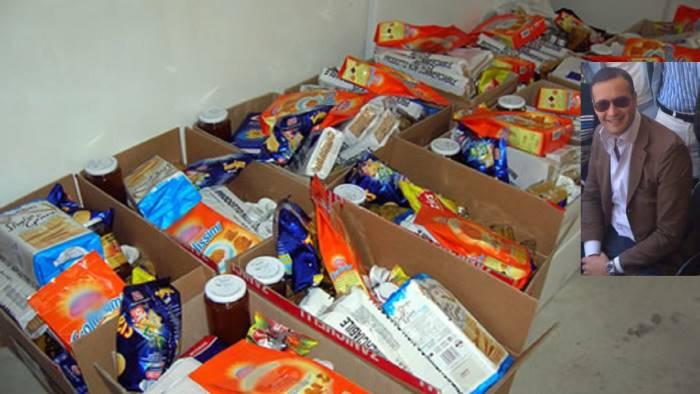 pacchi alimentari e polemica l assessore ora basta