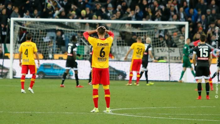 Udinese, massimo risultato con il minimo sforzo, ko il Benevento (2-0)