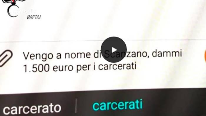 Castellammare di Stabia, chiede il pizzo via sms: