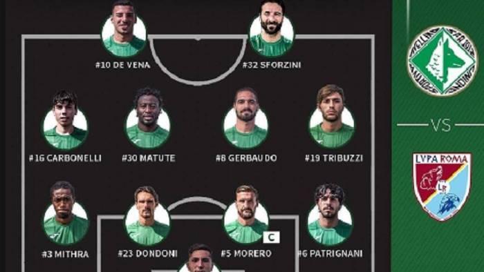 calcio avellino lupa roma 6 1 le pagelle
