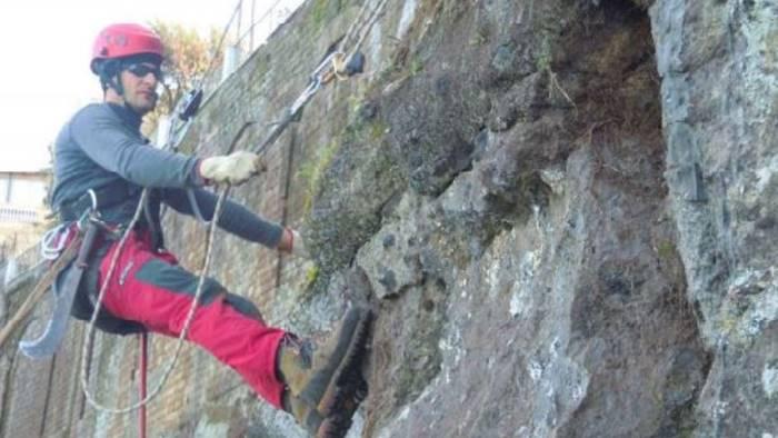 litorali scogliere e pareti rocciose via alla manutenzione