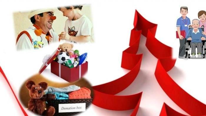 raccolta di peluche giochi e indumenti per bimbi bisognosi