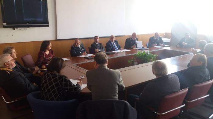 sicurezza in prefettura i sindaci del sele e dei picentini