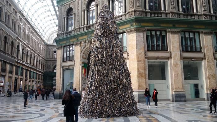 aumentano del 10 presepi ed alberi di natale riciclati