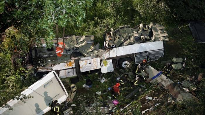 strage bus per la difesa incidente non era prevedibile