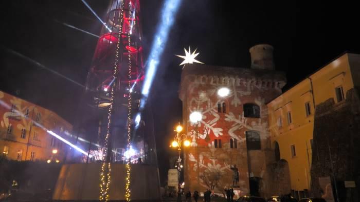 benevento si illumina per il natale 2018 guarda video e foto