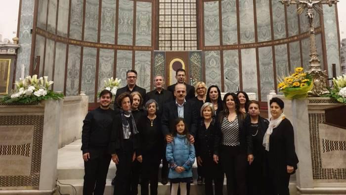 il chiostro in concerto per la chiesa di san giorgio