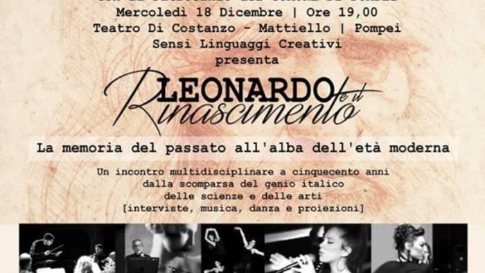 i cinquecento anni della scomparsa del genio italico