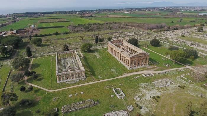 domani ingresso gratuito al parco archeologico di paestum