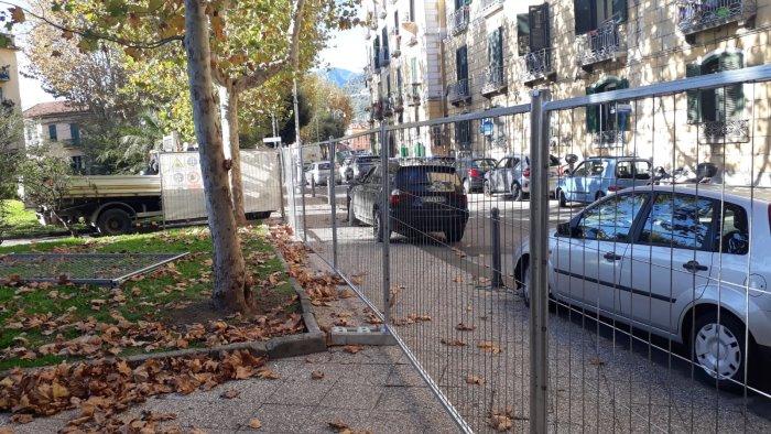 lavori in piazza alario richiesto consiglio comunale urgente