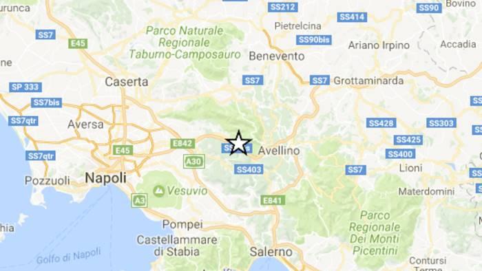 terremoto nuova scossa in irpinia magnitudo 2 1