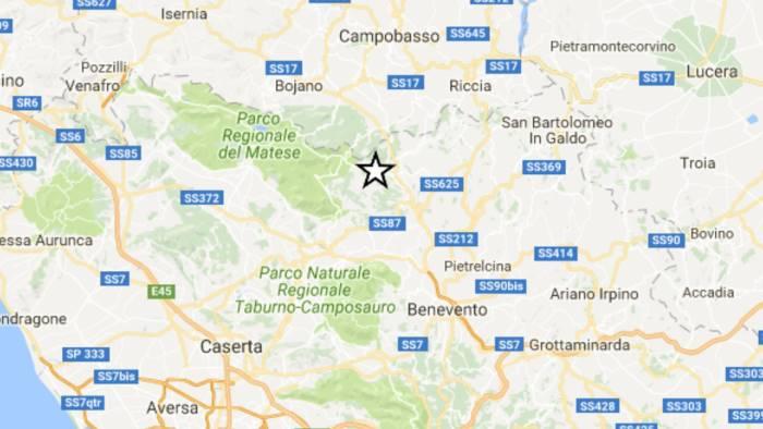 terremoto scossa 2 0 nel sannio epicentro a morcone