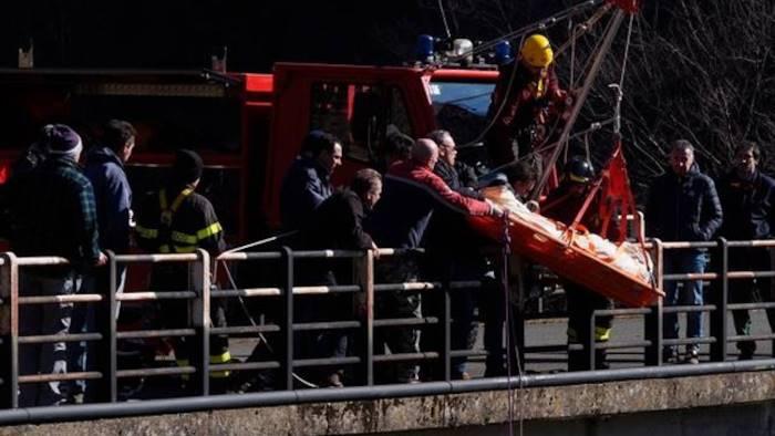 Tragedia sulla Trignina, camionista giù dal viadotto Gamberale