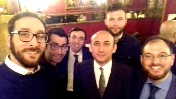 amici dell azerbaigian delegazione casertana a roma