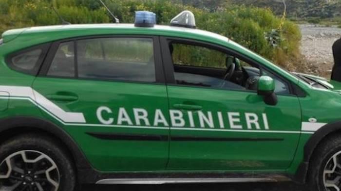 discarica abusiva sequestrata dai carabinieri