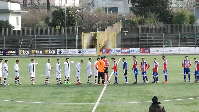 l olympic salerno supera di misura l atletico ve ca