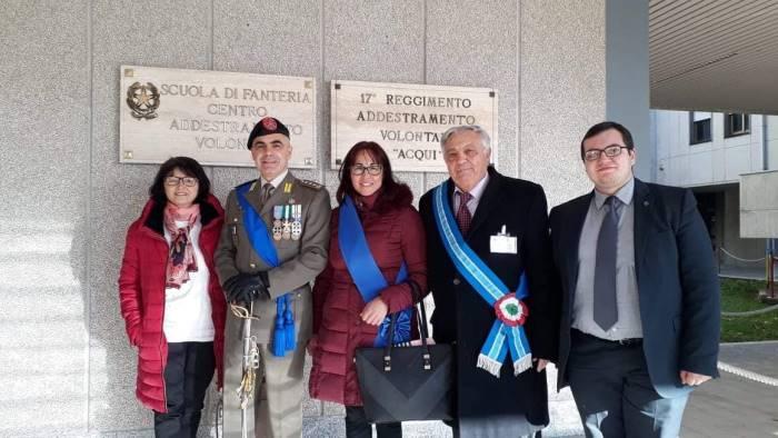 associazione guerra liberazione arpaise a cerimonia di capua