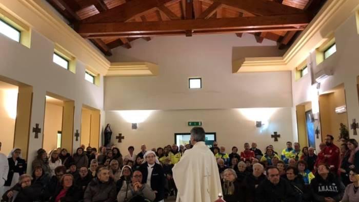 il vescovo battaglia celebra la giornata del malato