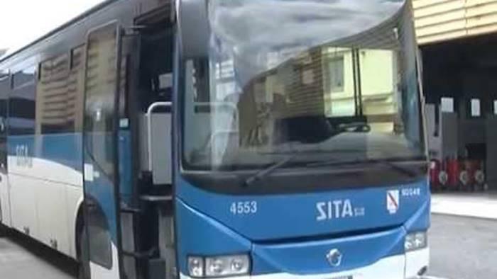 caos dei bus in costiera amalfitana sita pronta allo sciopero