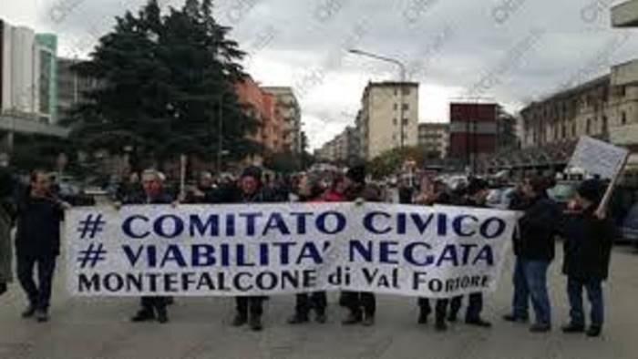 viabilita dissestata nuovo incontro a montefalcone
