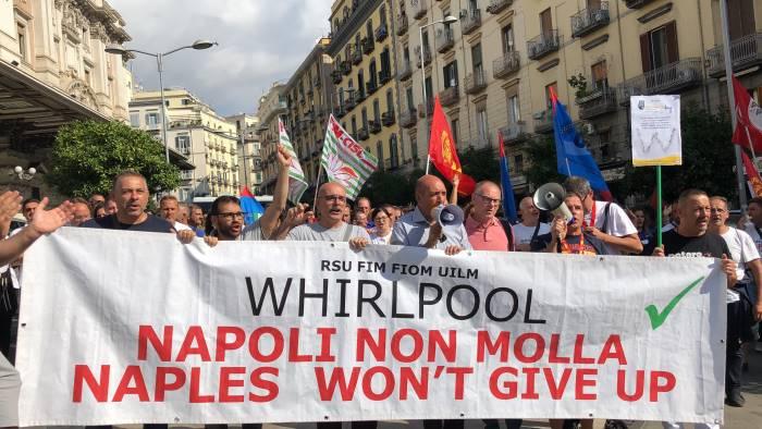 i sindacati scrivono all ad della whirlpool