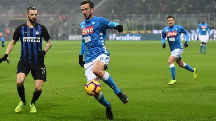 coppa italia inter napoli 0 1 vantaggio netto per il ritorno