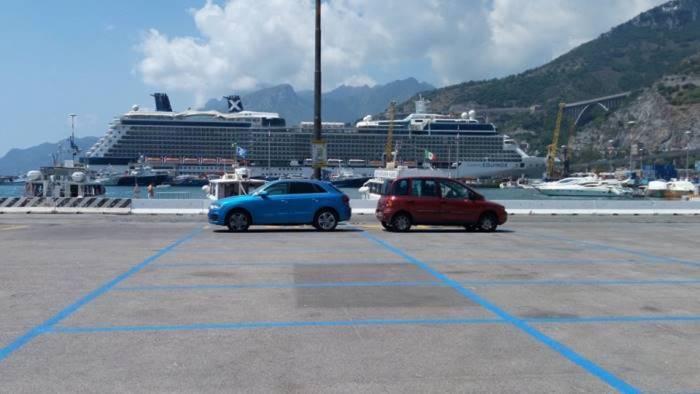 salerno parcheggi al porto celano scrive al sindaco napoli