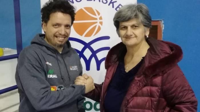 aldo russo e il nuovo allenatore della todis salerno 92
