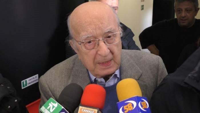 ciriaco de mita compie 92 anni auguri da tutta italia