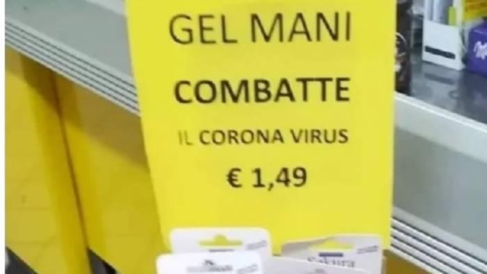 la trovata del commerciante ecco il gel anti coronavirus