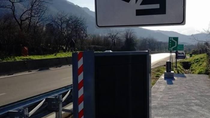 Raccordo Avellino-Salerno: autovelox in azione da giovedì ...