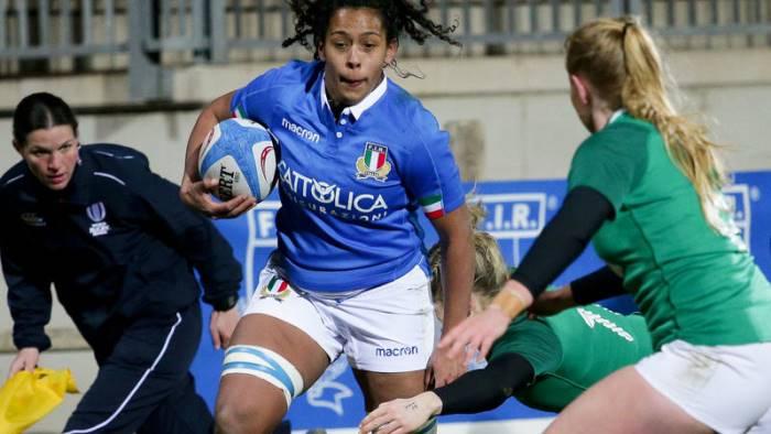 italrugby femminile franco titolare contro la francia