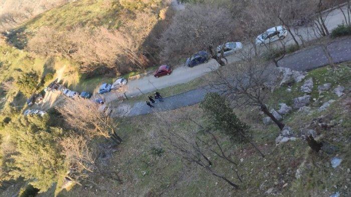 castel san giorgio droni in volo per controlli anti covid