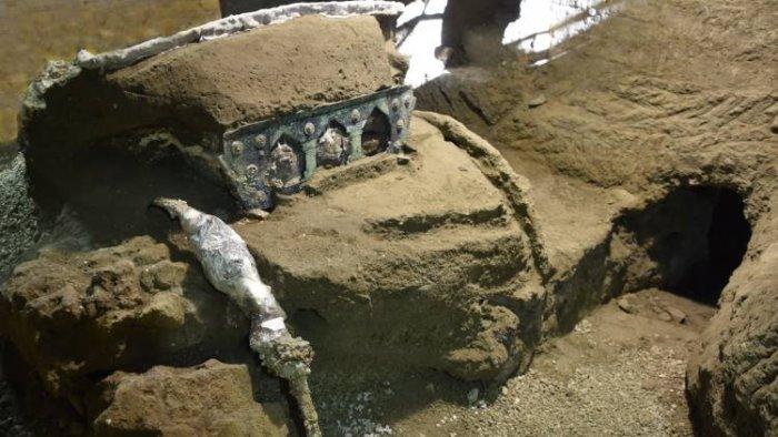 eccezionale ritrovamento tra gli scavi di pompei