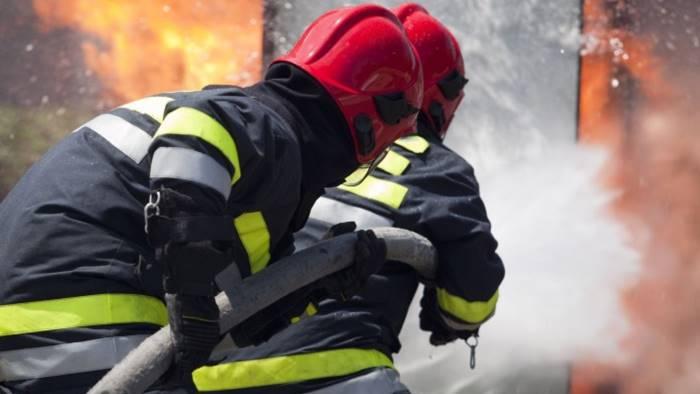 In fiamme autocisterna con 30mila litri di gasolio