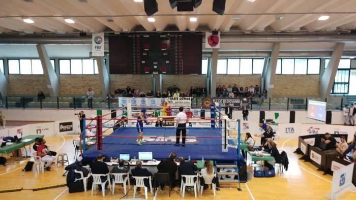 torneo nazionale femminile di pugilato trionfa sharon prisco