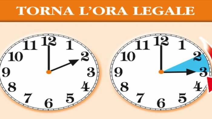 Scatta l'ora legale, alle 2 lancette in avanti di 60 minuti