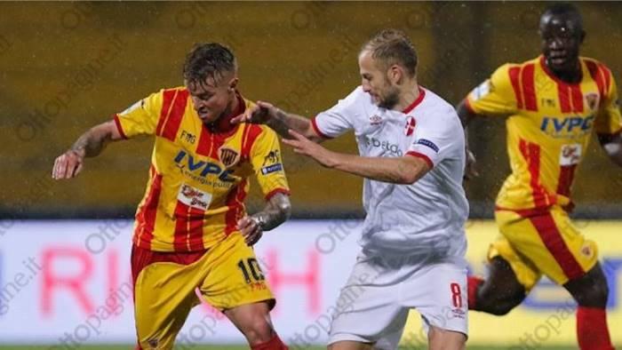 Serie B - Ceravolo risponde a Coda: 1-1 tra Benevento e Salernitana