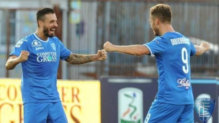 Serie B: l'Empoli batte l'Entella. Salernitana a +6 dai play-out