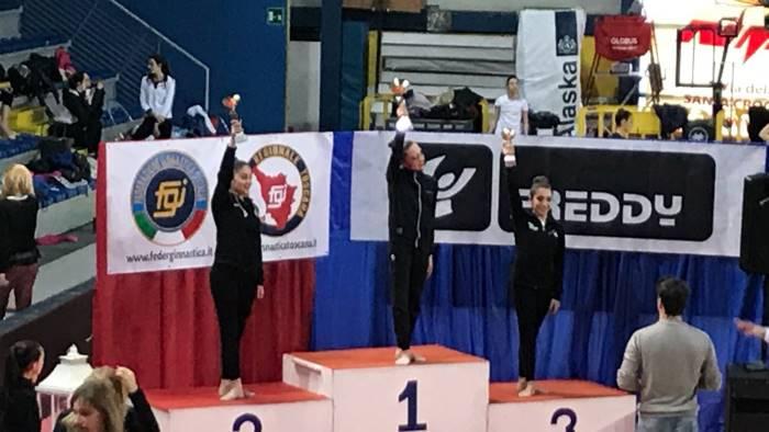 ginnastica santoriello campionessa interregionale