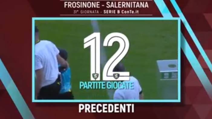 frosinone salernitana i precedenti